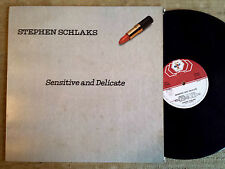 Stephen Schlaks – Sensitive And Delicate  - -  LP