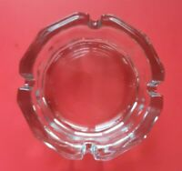 """New NOS 12 Sided Libbey Gibraltar 4"""" Ashtray Clear Glass"""