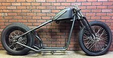 Ironhead Sportster Bobber Rolling Chassis Black P coated Wheels 1957 - 1985