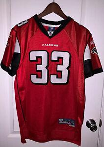Reebok NFL Atlanta Falcons Michael Turner #33 Red Football Youth Jersey Size XL