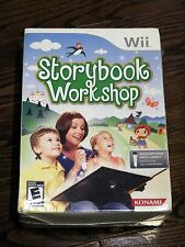 Brand New Storybook Workshop Game with Microphone Bundle (Nintendo Wii, 2009)