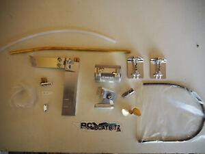 Traxxas M41 Widebody upgrade kit Silver