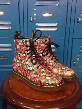floral poppy pascal doc dr marten size 6