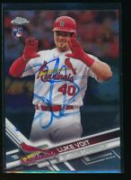 LUKE VOIT AUTO 2017 Topps Chome Update #HMT36 In-Person Autograph Rookie Card RC