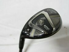 Used LH Callaway Epic Star 6 hybrid - Grand Bassara 55g Regular flex graphite