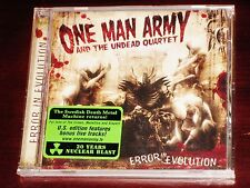 One Man Army And The Undead Quartet: Error In Evolution CD 2007 Bonus Tracks NEW