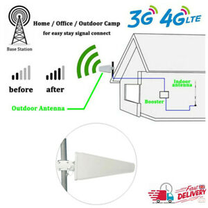 3G 4G LTE Wall Mount Signal Booster Antenna Fixed Outdoor Booster