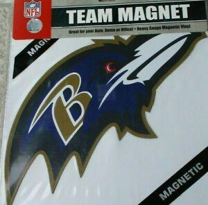 Baltimore Ravens 12 INCH LOGO MAGNET ! FREE SHIPPING ! FAST SHIPPING !