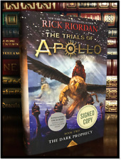 The Dark Prophecy ✎SIGNED✎ by RICK RIORDAN New Hardcover 1/1 Trials of Apollo #2