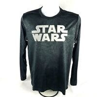 Mad Engine Mens T-Shirt Sz M Med Star Wars Long Sleeve Graphic