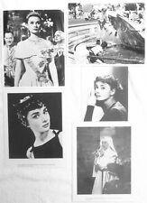 AUDREY HEPBURN 8x10 photo lot BEAUTIFUL SHOTS My Fair Lady ROMAN HOLIDAY more