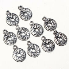 Lot 12 Gm 10 Pcs Silver Plated Designer Charms Connector