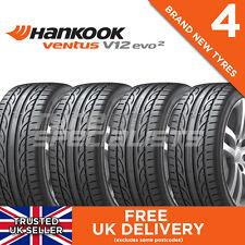 4x NEW 215 45 17 HANKOOK VENTUS V12 EVO 2 K120 91Y XL (4 TYRES) 215/45R17