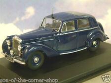 OXFORD DIECAST 1/43 1946-1952 IVO PETERS BENTLEY MKVI MK6 SALOON IN BLUE BN6001