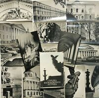 1974 Vintage Russian Mini Postcards set Leningrad Petersburg Photo cards