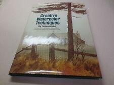 Creative Watercolor Techniques by Zoltan Szabo (1974, Hardcover)