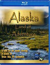 Alaska land of Adventure ( blu-ray video dvd ) Alaska cruise RV Auto Travel Disc