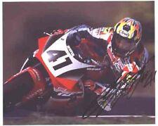 Noriyuki Haga - Superbike Rider - Signed Picture - COA (4334)
