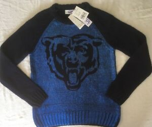Chicago BearsTouch Women's Shine On Sweater - Small