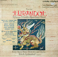 RCA LIVING STEREO LSC-6149 (3 LP)*SHADED DOG*TURANDOT LEINSDORF BJOERLING EX+/NM