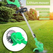 21V Li-ion Cordless Powerful Electric Grass Weeds Lawn Trimmer Edger Weed Eater