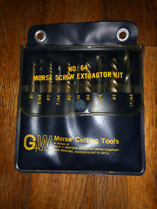 Morse Screw Extractor Kit Number 64