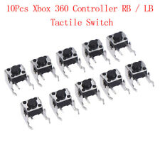 10Pcs RB / LB bumper button tactile switch for Xbox One Xbox 360 controller LMC