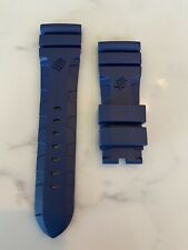 Officine Panerai Blue Articulated Rubber Strap 26/22 For 47mm Luminor