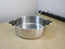 """New listing Stainless Steel 10 1/8"""" Dome Domed Lid Euc"""