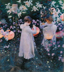 John Singer Sargent Carnation Giclee Canvas Print Paintings Poster LARGE SIZE
