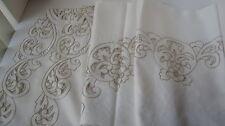 Gorgeous Banquet  Tablecloth 72X 108, 12 Napkins  NEW