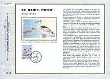 FEUILLET CEF / DOCUMENT PHILATELIQUE / LE HARLE PIETTE 1993 VILLARS LES DOMBES