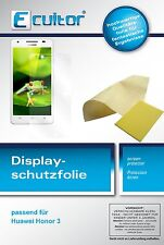 6x Huawei Honor 3 Film de protection d'écran protecteur cristal clair