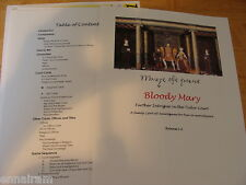 Further Intrigue in the Tudor Court Bloody Mary Boardgame Queen Mary Tudor