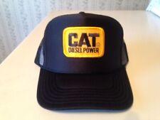 CAT DIESEL CATERPILLAR POWER HAT CAP TRUCKER STYLE