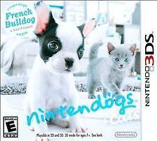 Nintendogs + Cats: French Bulldog & New Friends (Nintendo 3DS, 2011)