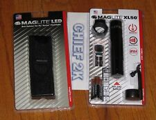 Maglite XL50 TAC PACK LED FLASHLIGHT AAA Cell 200 LUMEN + GENUINE XL HOLSTER