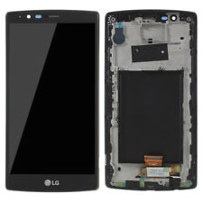 OEM LCD Screen and Digitizer Assembly with Frame for LG G4 H815 - Black