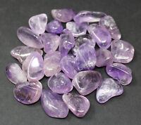 Tumbled Amethyst 1/4 lb Bulk Lot: Crystal Healing Reiki Chakra Gemstone 4 oz