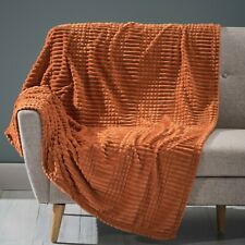 Cascara Corduroy Throw Blanket