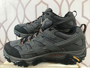 MERRELL Moab 2 GTX Mens Walking Shoes Uk 9 Brand New Ar73