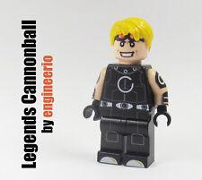 LEGO Custom -- Legends Cannonball -- Marvel Super heroes figure