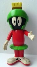 """8"""" MARVIN THE MARTIAN VINYL FIGURE 1994 WARNER BROTHERS MOVABLE HEAD ARMS LEGS"""