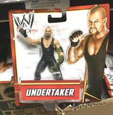 UNDERTAKER MATTEL OFFICIAL WWE WRESTLING ACTION FIGURE 10 CM SEALED MOC new