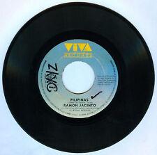 Philippines RAMON JACINTO Pilipinas OPM 45 rpm Record