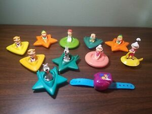 Wendy's 1989 - The Jetsons Space Cars - Complete Set of 6 with extras lot of 11