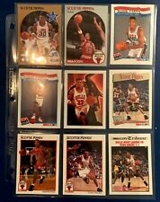 Scott's Destash - 1991 Hoops Scottie Pippen Set of 9 cards