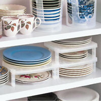 Dish Organizer Home Kitchen Bathroom Plastic Rack Drainer Holder Shelf Storage