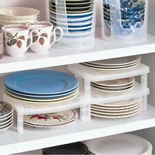 Dish Organizer Home Kitchen Bathroom Plastic Rack Drainer Holder Shelf Storage