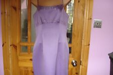 Lilac Dress for special occasions by Hilary Morgan - size 12